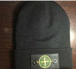 Wholesale Browning Beanie - 2017 new STONE NEW MAN Wool Hat ISLAND Jacket Hat BEANIE