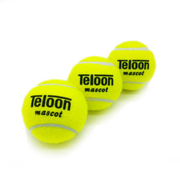 Wholesale Fasting Exercise - Wholesale- 801 Brand New High Resilience Tennis Ball Durable Tranning Exercise Practice Tennis Ball Fast Free Shipping 3pcs
