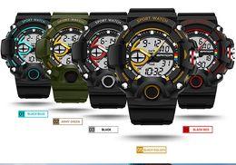 Wholesale Dress Led S - relojes hombre Hot Sale 2016 Chronograph S Style Shock Brand Casual Women Sports Watches LED Military Digital Quartz Dress Wrist Watches