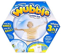 Wholesale Bubble Toys For Children - The amazing Inflatable Rubber Wubble Bubble Ball Out Door Ball Toys for children Kids without Air Pump