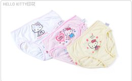 Wholesale cartoon cat Snow White princess Cinderella girls briefs trunk boxers kids shorts child panties pure cotton pants children underwear T P