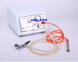 Wholesale Home Oxygen Bars - 2 bar High vacuum oxygen jet peel microdermabrasion 9 wands facial care salon home use beauty machine