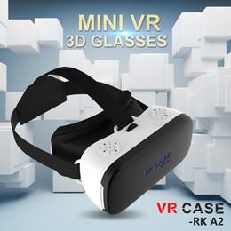 2019 kernhelm Großhandels- Alle in einem VR Helm 3D Brille VR Fall RK-A2 Octa-Core 2G Virtuelle Realität Gläser Immersive Klar Englisch PK Bobovr X1 Brille günstig kernhelm