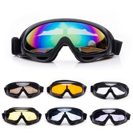 Wholesale Ski Goggles Orange - Outdoor Sports Glasses Hunting Shooting Protection Gear Airsoft Goggles Cycling Sunglasses X400 Shooting Tactical Skiing Goggles