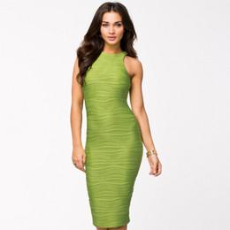 Wholesale Maxi Skirt Stripes - Hot Sell Women Stripe Dress Party Elastic Skirt Maxi Dresses Knitting Sexy Sweetheart Club Slim Sleeveless Dress Sheath