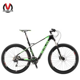 Wholesale Mtb Frame Double - SAVA PLUS3.0 Mountain Bike 27.5 inch Carbon Fiber Bicycle Frame 30 Speed MTB Bike Cycle M610 GroupSet with Double Disc Brake