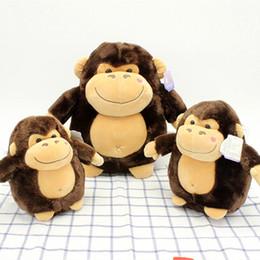 Wholesale Wholesale Black Kong Toys - Name: Manufacturer King Kong Orangutan Lovely Little Monkey Plush Toy Doll Doll Dolls Tanabata Festival Gift
