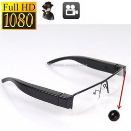 Wholesale Digital Eyeglasses - V13 SPY 1080p Full HD Digital Video Recorder Glasses Hidden Camera Eyewear DVR Camcorder Hot Eyeglass 10pcs  lot