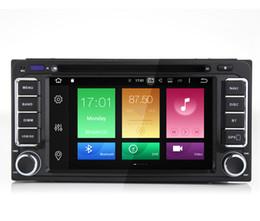 Wholesale Toyota Prado Car Stereo - Octa-core Android 6.0 Car DVD Multimedia For Toyota RAV4 Lander Cruiser Prado Vois AVANZA RunX GPS Navi 4K Video BT Phonebook 3G 4G WIFI OBD