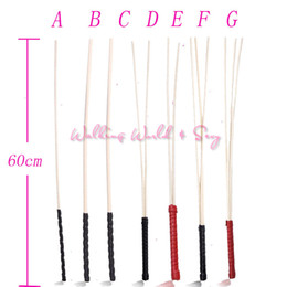 Wholesale Adult Toys Games - New 60CM Natural Rattan Toughness Whip Fetish Bondage Lash Flogger BDSM Spanking Flogger Whips Adult Game Sex Toys For Couples