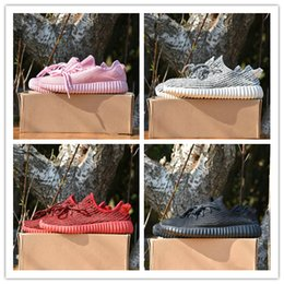 Wholesale Womens Oxfords Lace Ups - 2017 350 Boost Shoes Top Quality Pirate Black Turtle Dove Moonrock Oxford Tan Hot Womens Mens Shoes Kanye West Boost 350 size eur 36-46