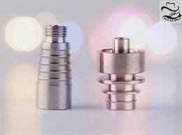 Wholesale Top Crimping Tool - 10mm Domeless Titanium Nail with Female Joint 1 Nail Top Plus 1 Joint 54.18mm Length 215