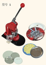 "Wholesale Button Badge Machine Maker - Mouse over image to zoom 1"" 25mm Badge Button Maker Machine Press"