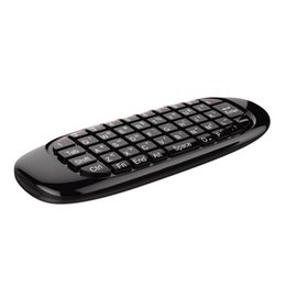 Wholesale Combo Player - Wireless Air Mouse Keyboard 2 in 1 2.4GHz Portable Combo With LED Indicator for Network Media Player Tablet Android tv box