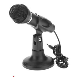 Wholesale Multimedia Computer Microphone - LX-M30 High Quality Multimedia Microphone For Net KTV,Computer,PC