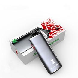 Wholesale E Vapor Dry Oil Wax - Original Black Widow Vaporizer Kingtons 3in1 wax oil dry herb box kit herbal vaporizer e juice Liquid vapor mods vape pen e cig cigarette