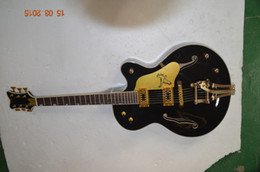 Wholesale Semi Hollow Jazz - rosewood fingerboard 6 string custom guitar faclon semi hollowbody guitar Golden grover tuner high quality jazz guitar