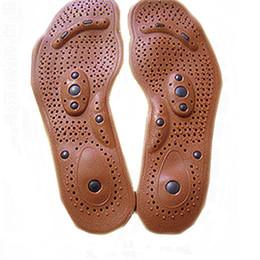 Soins de santé magnétiques Semelles de massage des pieds pour hommes / femmes ? partir de fabricateur