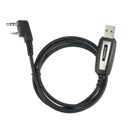 Wholesale Baofeng Uv 5r Cable - Wholesale-New USB Programming Cable for Baofeng Two way Radio UV-5R, BF-888S,BF-F8+ With Driver CD