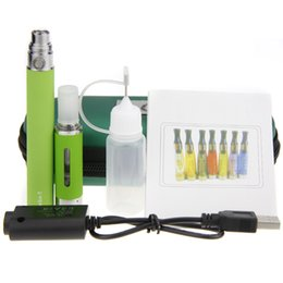 Wholesale Ego T Set Single - Colorful Electronic Cigarettes Set 900mah Ego-T Battery E-cigarette Starter Kits with MT3 Atomizer Single Packing in Ego Zipper Case
