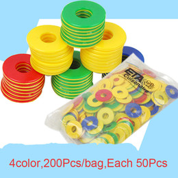 Wholesale Educational Toys For Kindergarten - Wholesale- 200Pcs bag Multicolored Children Learning Toys Preschool Kindergarten Education Counting Games Mathematics Math Toys for Kids