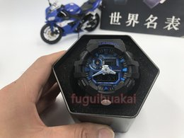 Wholesale Free Freight - Free freight AAAA High quality men's sports GA700 watches men watch LED chronograph all function work waterproof with original box