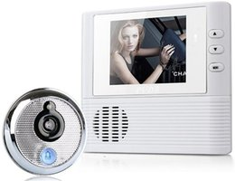 Wholesale Security Camera Screen Monitor - 2.8 Inch Screen Wireless Electronic Video Doorbell with Camera Monitor Photographed Door Bell Electronic Visual Cat's Eye Home Security