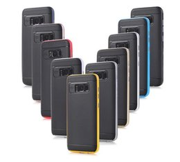Wholesale S4 Bumpers - Bumblebee Armor TPU PC Bumper Shockproof Cover CASE For iPhone 5 5S 6 6S GaLaxy S4 S5 S6 edge Plus s7 s8 s8plus Hybrid Case