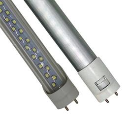 Wholesale Led 35w - T8 G13 4ft 8ft 28W 60W Double Row Led Tube 1.2m 2.4m SMD 2835 85-265V 4FT 8FT 1200mm led tubes fluorescent Lighting ce rohs UL