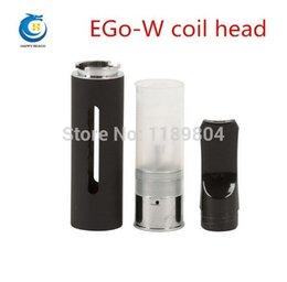 Wholesale Ego W Cartomizer F1 - Wholesale- electronic cigarettes EGo W coil head ego w F1 atomizer core pen type atomizing core atomizer tank egow F1 cartomizer 5pcs