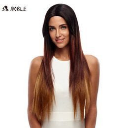 Wholesale Heat Friendly Lace Wigs - Rebecca Noble Brand Synthetic Hair Straight Lace Front Wig Blonde Hair 31 Inch Heat Friendly Synthetic Hair Lace Front Party Wig