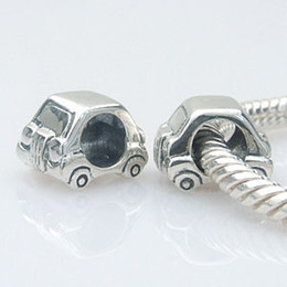 Wholesale pandora car - Sterling Charms 925 Silver Jewelry Stereoscopic Car European Beads Fit Pandora Bracelets Silver Charms Jewelry Making SS0200