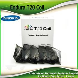 Innokin starter en Ligne-Tête de bobine Innokin Endura T20 originale 1.5ohm pour démarreur Kura Prism T20 réservoir 1500mah / 1000mah Endura T20 100% authentique