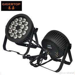 Wholesale led par lights china - TIPTOP TP-P103 Silent 18x18W RGBWAP 6IN1 Waterproof Led Par Light Casting Aluminum Case No Work Noise China Jinxin LED Big Lens