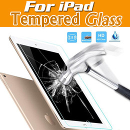Wholesale Protector For Screen Tablet - Tempered Glass for Ipad Mini 1 2 3 4 IPAD Air 5 6 Pro 10.5 Screen Protector HD Explosion Proof Tablet Screen Protector Film Cover