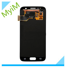 Wholesale Screen Replacement Repair Lcd Galaxy - new original for Samsung Galaxy S7 LCD LCD Display Touch Screen Digitizer Touch Panels Assembly Replacement Repair Grade A+++