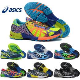 Wholesale Gel Noosa Tri Shoes - Wholesale Men Women Running Shoes GEL NOOSA TRI 9 IX Fashion Original For Men Top Quality Athletics New Color Sneakers Sports Shoes 36-45
