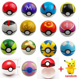 Wholesale Toy Babe - High end Pokeball Toy Openable 7cm Action Figures Pokeball Babe Great Master Gs Ball for kids gifts