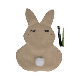 Wholesale House Home Toys - Cute Rabbit Garden Flag Indoor Outdoor Home Decor House Crafts Ornament Toys