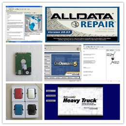 Wholesale English Manual - alldata v10.53 and mitchell on demand 5+ mitchell heavy truck auto repair software diagnostic Manual 3in1 hdd 750gb