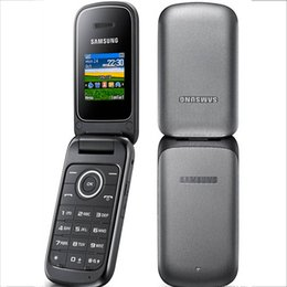 Wholesale Dual Screen Gsm Mobile Phone - Refurbished Samsung E1190 GSM Cell Phones With 1.43Inch Screen Dual Band 900 1800 Function Filp Mobile Phone