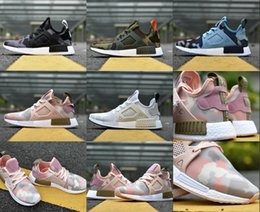 Wholesale New Fabric Collections - Wholesale New NMD XR1 Camo Sneakers Boost Men Shoes Pink Women Running Shoes ultra Sports Shoes Camo Collection