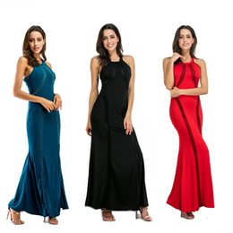 Wholesale Long Sleeve Pencil Dress Fitted - guangzhou michun apparel women clothing ankle length sleeveless pencil long slim fit evening party sequin dresses for women