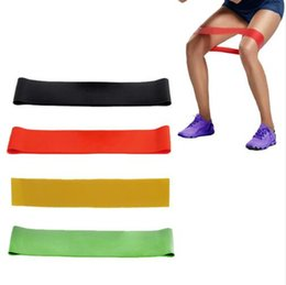 Wholesale Tension Fitness Equipment - Elastic Band Tension Resistance Band Exercise Rubber Loop Crossfit Strength Training Expander Fitness Yoga Equipment 600*50*0.7mm KKA2476