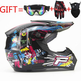 Wholesale Helmet Dh - FREE SHIPPING motorcycle Adult motocross Off Road Helmet ATV Dirt bike Downhill MTB DH racing helmet cross Helmet capacetes