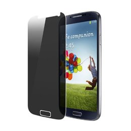 Wholesale Privacy Screen Protector Galaxy - 9H 0.3mm Tempered Glass Privacy Screen Protector Anti-Spy for Samsung Galaxy S3 i9300 S4 i9500 S5 i9600 S6 G9200 S7 S5 mini i8190 i9190