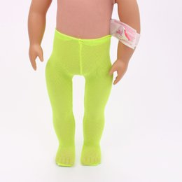 Wholesale Doll Leggings - Doll clothes Stockings Leggings for 43cm baby born zapf 16-18 inch American Girl Doll accessories toys gifts