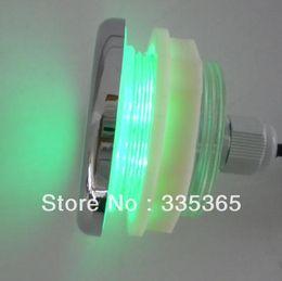 Wholesale Bathtub Led - Wholesale- 4pcs X 1W waterproof swimming vinyl pool RGB LED underwater bathtub light   LED Spa light with controller and adapter