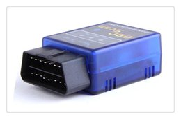 Wholesale Bluetooth Ecu - HH OBD MINI ELM327 Torque Android Bluetooth OBD2 OBDII CAN BUS Check Engine Auto Scanner Interface Adapter ECU Code Reader