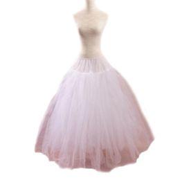 Wholesale Gowns Accessories Designs - 2017 Newest Design Hot Sale Hand Made Wedding Dress Skirt Bridal Petticoat A-line Gown Underskirt Crinoline Slip Bride Wedding Accessories
